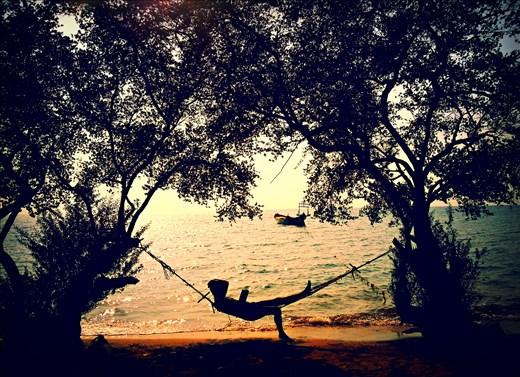 Daydreaming on Rabbit Island, Cambodia