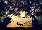 Daydreaming on Rabbit Island, Cambodia: by cloudforestbryony, Views[90]