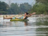 floating down the river in Vang Vieng: by cmbryant912, Views[227]