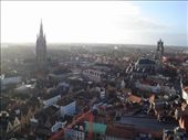 Brugge from the top of the Belfry.: by cmdwedge, Views[211]