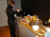 Breakfast in Brugge - pancetta, fancy European cheese, yoghurt, coffee.: by cmdwedge, Views[315]