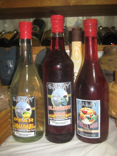 Fruit Wines from the Philippines' Mountain Provinces