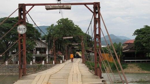A bridge near Phonsovan