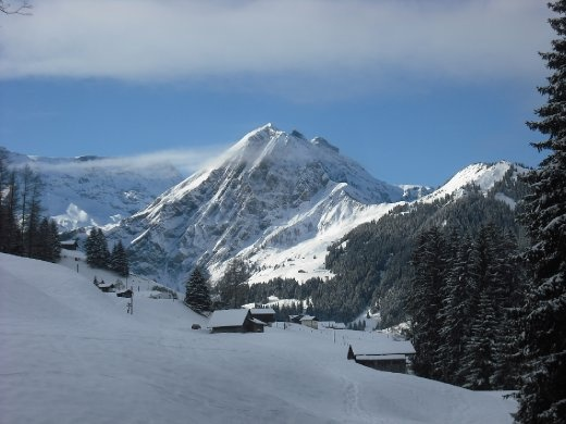 One of the amazing views from the Chalet