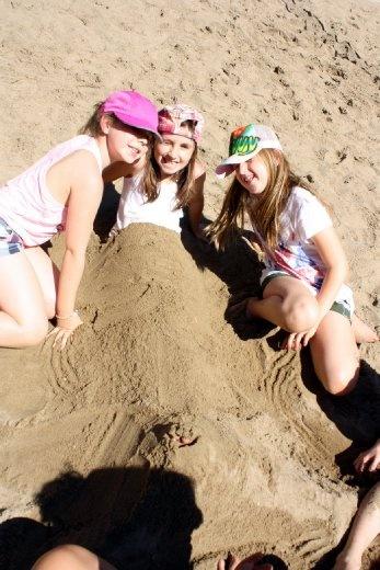 Sand mermaids :)