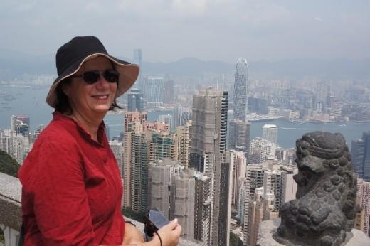 Sue in Hong Kong