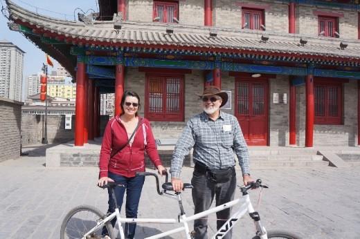 Xi'an cyclists