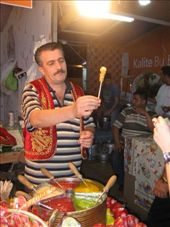 Toffee on a stick - to celebrate on a Ramadan evening near the Blue Mosque.: by col_n_sue, Views[318]