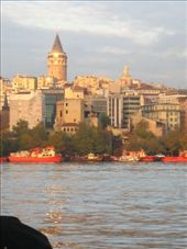 Looking to Galata Tower across the Golden Horn.: by col_n_sue, Views[290]