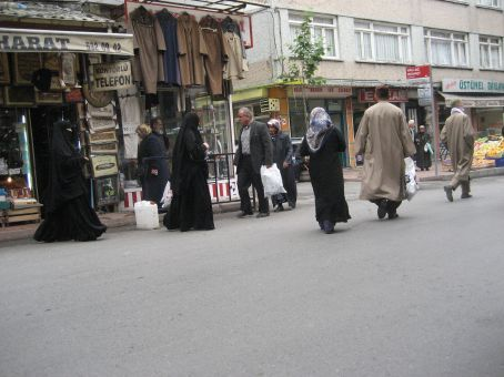Outside the tourist areas - towards the outer wall of Istanbul