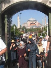 Looking to Haggai Sofia from the Blue Mosque: by col_n_sue, Views[497]