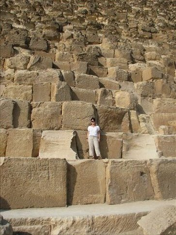Me upon the great pyramid