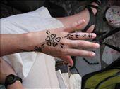 Getting a henna tattoo in Dahab: by colleen_finn, Views[444]