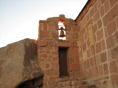 Christian church on the summit of Sinai