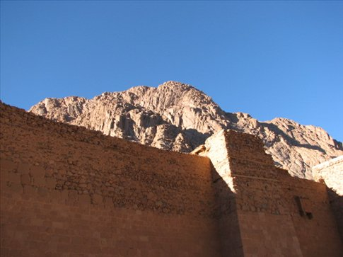 St Catherines monastery at the foot of Mt Sinai