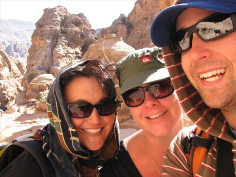 Me, Brendan, and Krystal in Petra