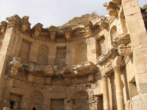 Views of the ancient Roman city of Jerash