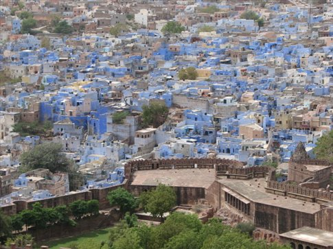 View from Mehrenghar Fort, Jodhpur