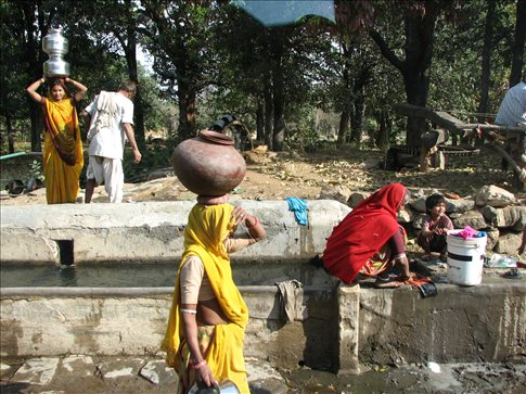 Random village shot, Ranakpur