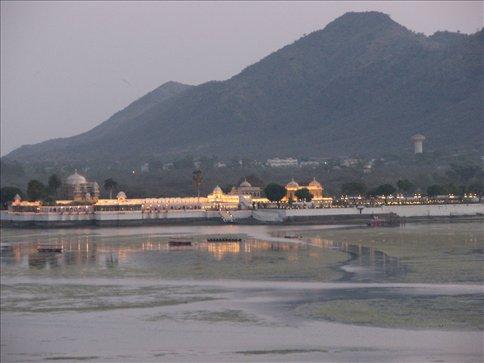 Jag Mandir lake palace in Lake Pichola, Udaipur