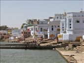 Pushkar lake and the ghats: by colleen_finn, Views[206]