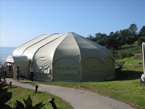The yoga dome