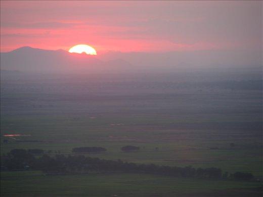 Mekong Delta sunset