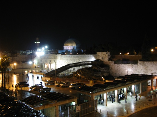 The Old City at night
