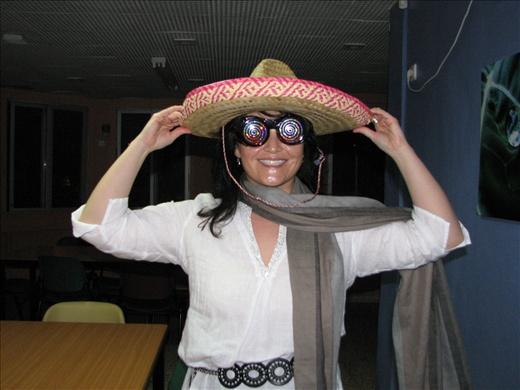 Me in more Purim costume