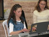 The Bat Mitzvah girl performing for her guests: by colleen_finn, Views[1287]
