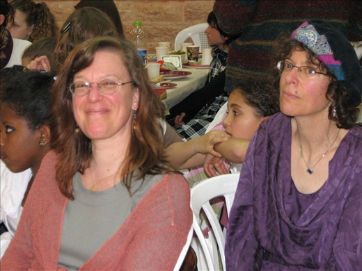 David's sisters, Nancy and Pam
