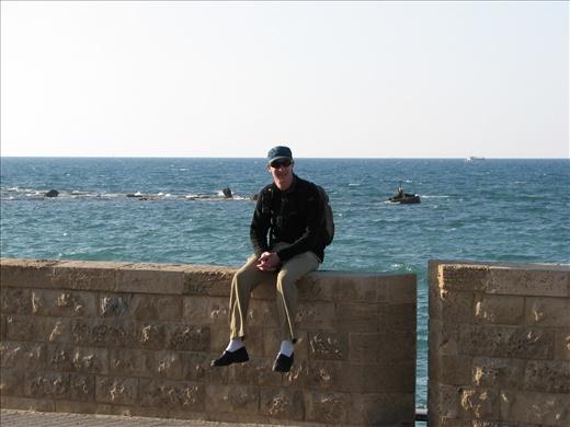 David in Old Jaffa