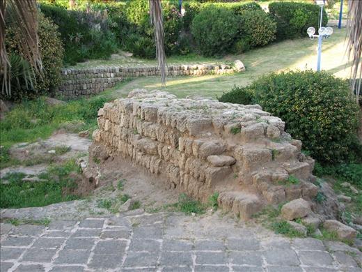 Old Jaffa ruins