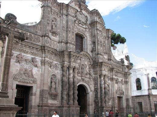 Compania de Jesus in Old Town Quito