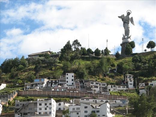Old Town Quito - El Panecillo