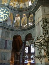 Inside the Hagia Sophia (Istanbul): by colleen_finn, Views[401]