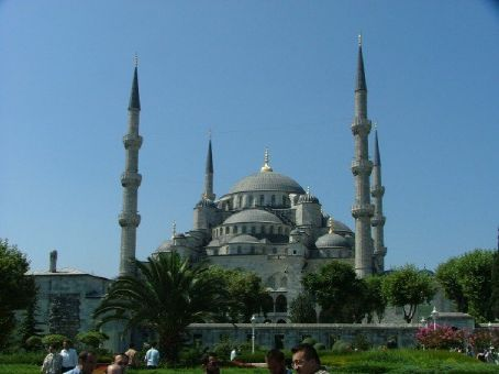 The Blue Mosque, b. 1600s (Istanbul)