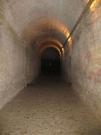 Part of the underground Roman town in Coimbra