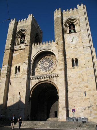 Santa Lucia cathedral in Lisbon