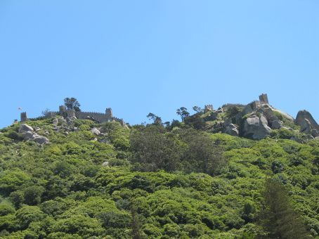 More Moorish castle in Sintra