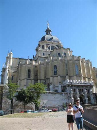 The Cathedral of San de la Almudena