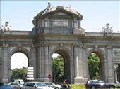 Plaza de Alcala - outside of Retiro Park: by colleen_finn, Views[578]