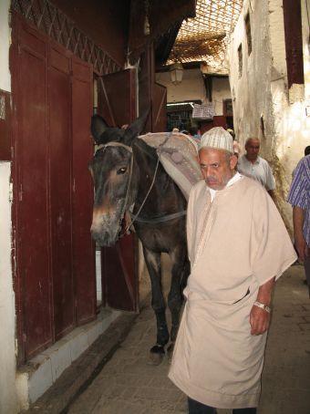 Inside the Medina (Fez)