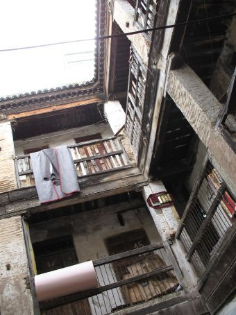 A fondouk - these used to be used as hotels (Fez)