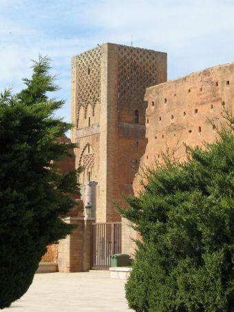 Hassan tower, b. 1196 (Rabat)