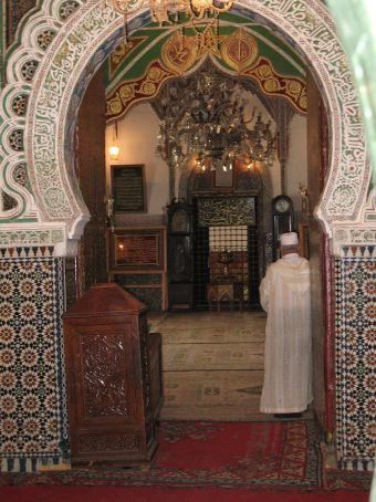 The Mausoleum of Moulay Idriss (Fez)