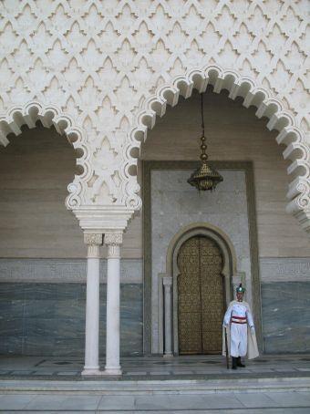 Mohammed V's Mausoleum (Rabat)