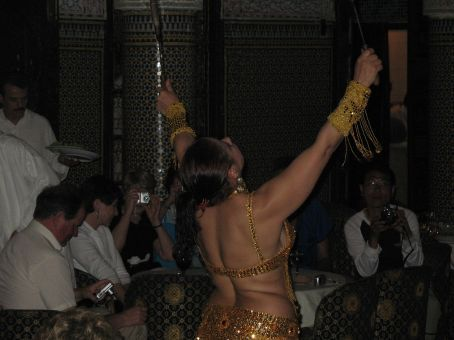 Moroccan dinner and dance entertainment