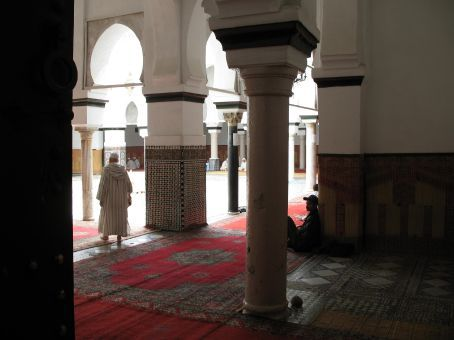 Mosque inside of the Medina (Fez)