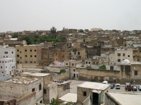 Outside view of the Medina (Fez)